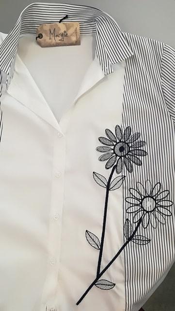Abbigliamento_Camicia_Donna_Prato_PuroCotone