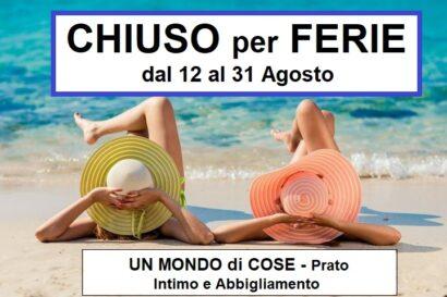 Chiuso-per-Ferie-Agosto-Prato-UnMondoDiCose-Vacanze